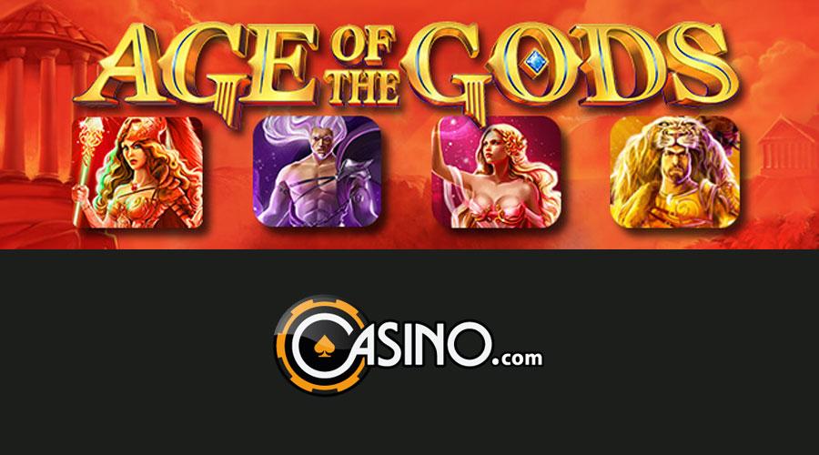Age of Gods promo at Casino.com
